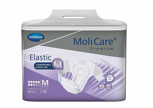 MoliCare Premium Elastic 8 kapljica, M